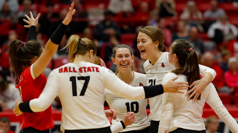 1fc99afce6 Volleyball Visits CMU & EMU This Weekend - Ball State University Athletics