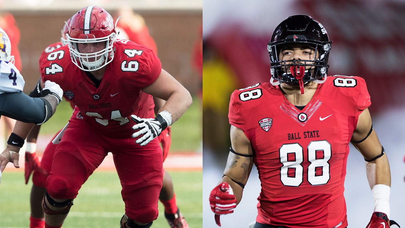 Two More Ball State Football Players Highlighted on