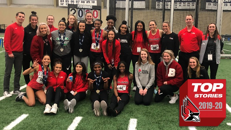 Top Stories of 2019-20: Track & Field Shines at MAC Indoor Championships - Ball State University Athletics